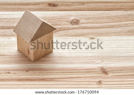 Wooden building - stock photo