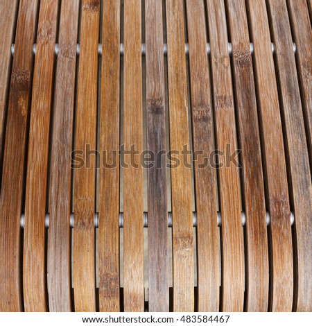 wooden chair design modern style, close-up part of object