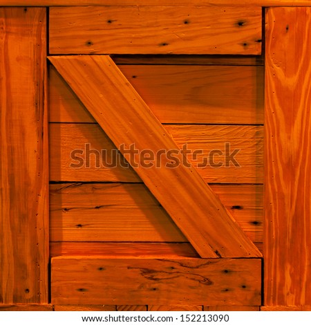 wooden crate background  - stock photo