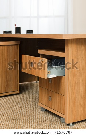 Lock Desk Drawer Stock Images Royalty Free Images