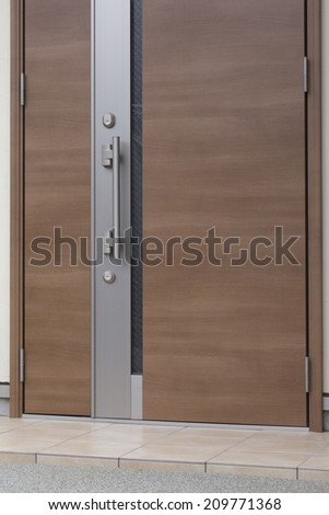 Wooden Doors of the House