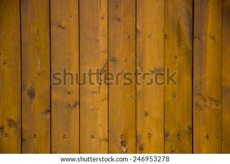 wooden fence background - stock photo