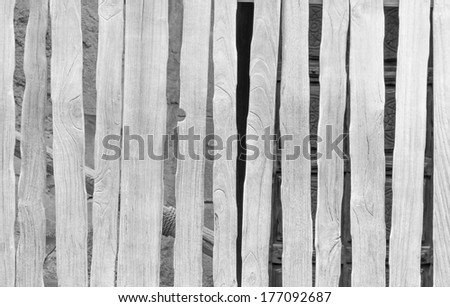 Wooden fence background from white painted planks