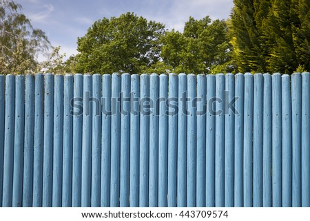 Wooden fence, Lower saxony, Germany, Europe,