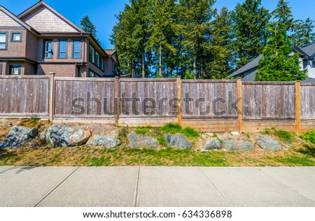 Wood Fence Stock Images Royalty Free Images Vectors