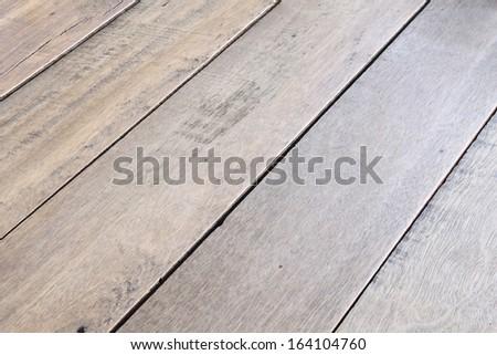 Wooden floor background - stock photo