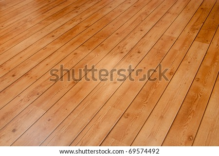 Wooden floor board background.