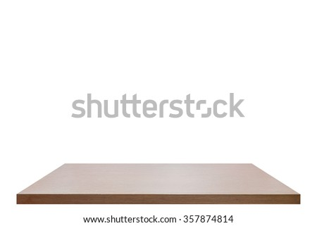 wooden floor on white background
