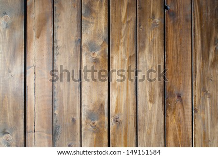 Wooden floor or wooden wall - stock photo