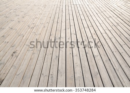 wooden flor  - stock photo