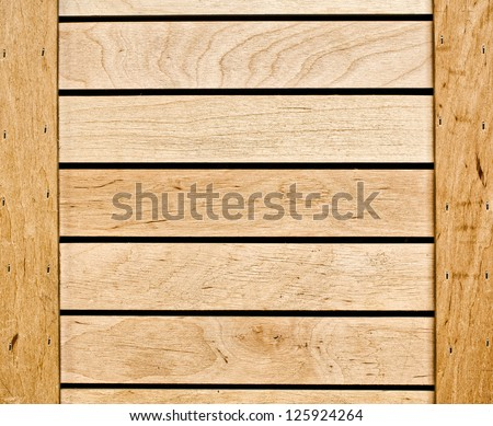 Wooden frame for background usage - stock photo