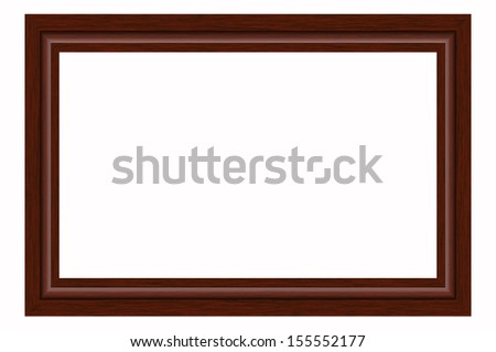 Wooden frame for photographs or paintings.
