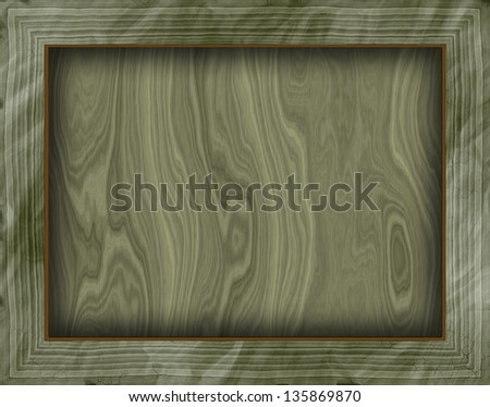 Wooden framed background