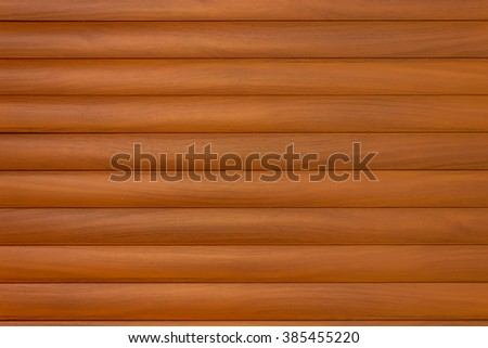 Wooden log wall background