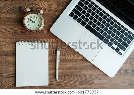 Wooden Office Desk Top