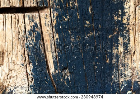 Wooden painted  texture close up photo , nice background or texture for your projects - stock photo
