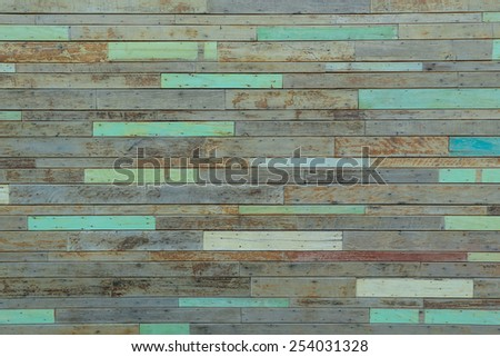 Wooden pale wall texture