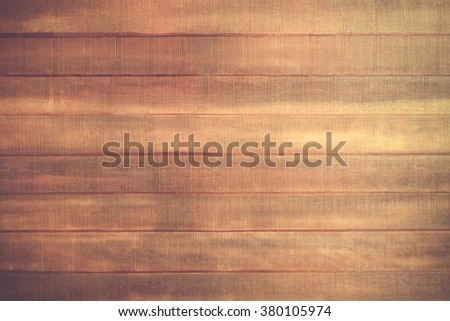 Wooden panel plank background vintage style. Brown wood wall texture. Desk nature pattern background. Dark table top floor.Beech stage hardwood planks. Home design. Timber surface vintage for staging. - stock photo