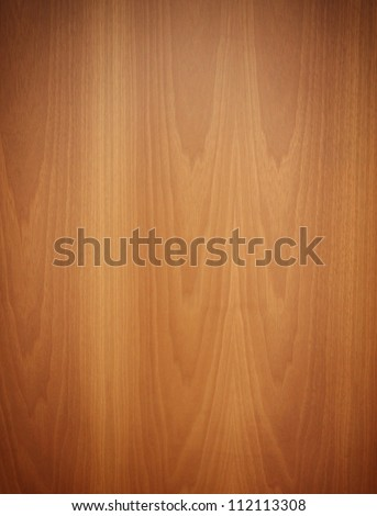 wooden panel, wood grain - stock photo