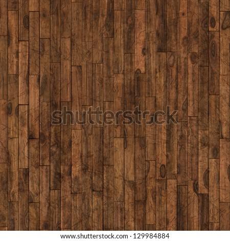 wooden parquet floor - stock photo