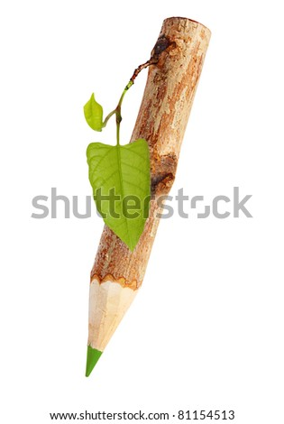 Pencil tree stock photos illustrations and vector art