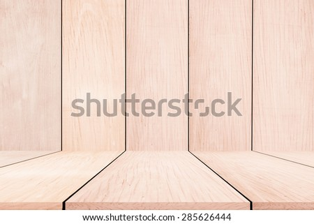 wooden perspective  background