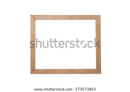 wooden photo frame as the background