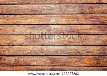 Wooden planks background texture closeup