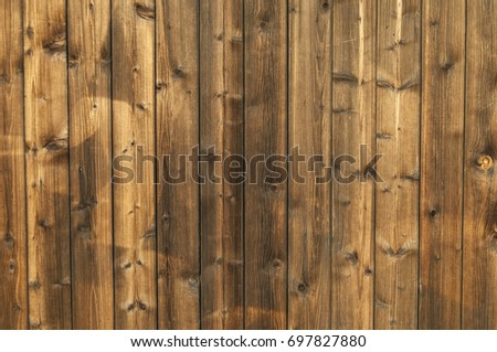 wooden planks stained
