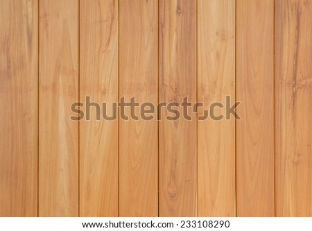 Wooden planks wall for background. - stock photo