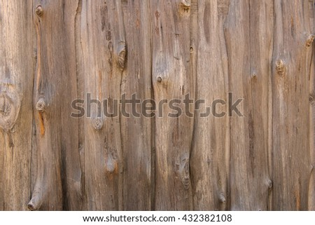 Wooden planks wall texture abstract for background. - stock photo