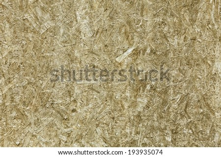 Wooden Pressed Panel ( pressed wooden waste) Background and seamless texture. - stock photo