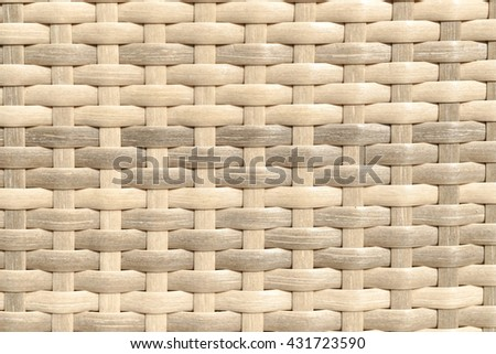 Wooden rattan with natural patterns, Texture of a chair (wallpaper / texture / background) - stock photo