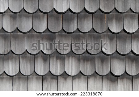 Wooden shingles old texture