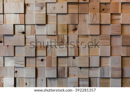 Wooden squared floor texture. Interesing patterns close up