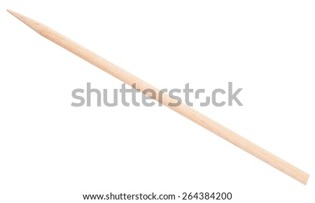 Wooden stick  - stock photo