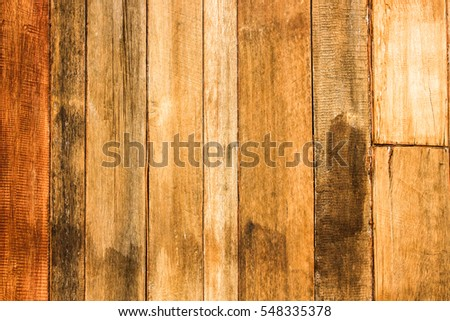 Wooden streak old golden vintage using classical background or use it in design and decorative.