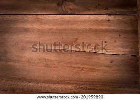 Wooden table background - stock photo