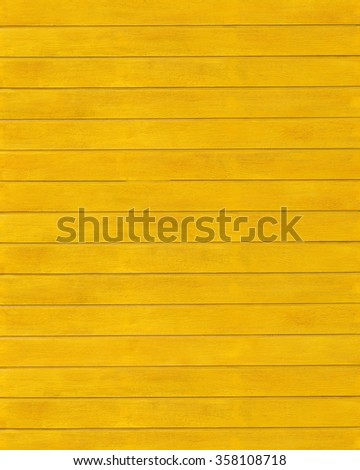 Wooden texture color yellow - stock photo