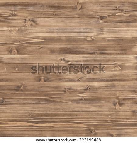 Wooden texture, dark brown wood background - stock photo