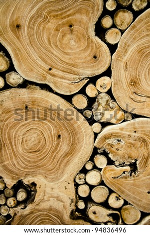 Wooden texture. It is possible to use as a background. - stock photo