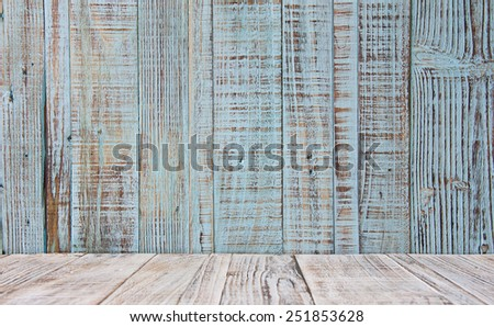 Wooden texture of blue and brown color