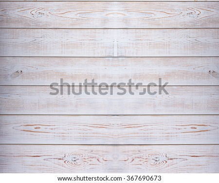 Wooden texture top view. Vintage white wood background