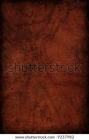Wooden texture with border:can be used as background - stock photo