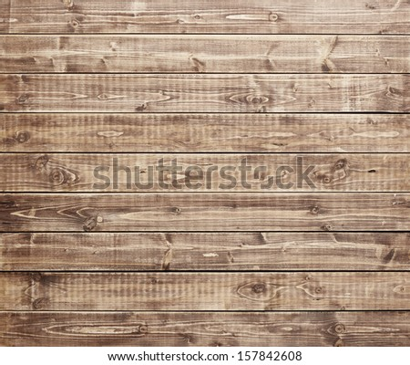 Wooden texture, wood background - stock photo