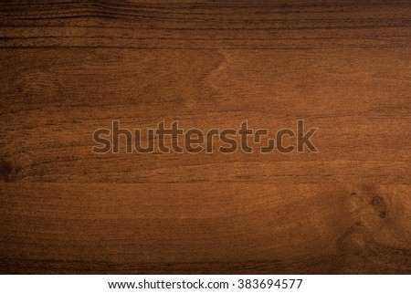 Wooden veneer surface