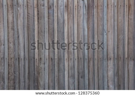 Wooden wall. - stock photo