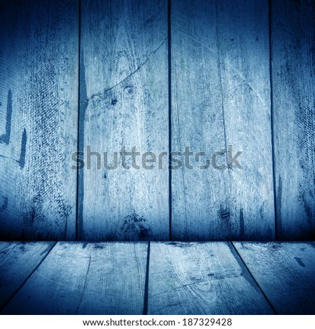 wooden wall and wooden floor interior
