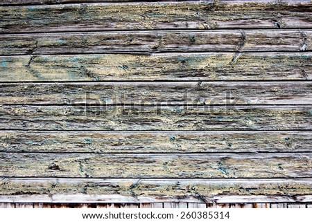 Wooden wall background or texture. Weathered timber. - stock photo