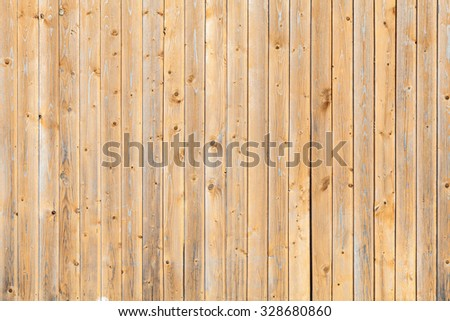 Wooden wall background photo texture, vertical planks pattern